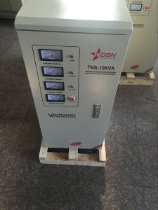 Tns-10kVA Three Phase AC Automatic Voltage Regulator for Lift pictures & photos