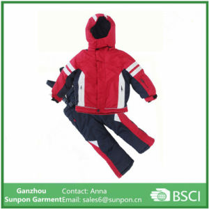 Boy Girl Thicken Waterproof Snow Jackets Ski Suit Skiing Clothing pictures & photos