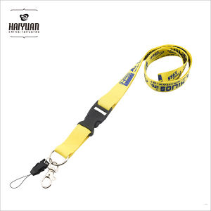 Mobile Holder Lanyard in Silk Screen Printing with Low Cost pictures & photos
