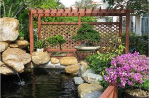 Environmental Pergola Waterproof Pergola Wood Garden pictures & photos