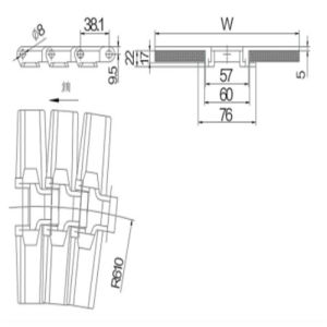 Conveyor Chain (882TAB-K750) pictures & photos