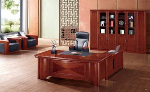 2 Meter Classic Walnut Executive Table Office Furniture pictures & photos