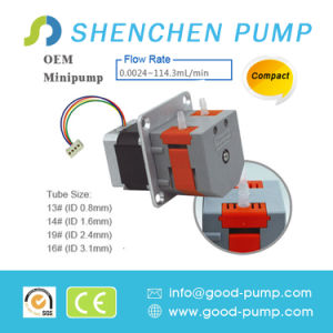 0.024-190ml/Min Compact Type Stepper Motor Single Channel Mini Pump pictures & photos