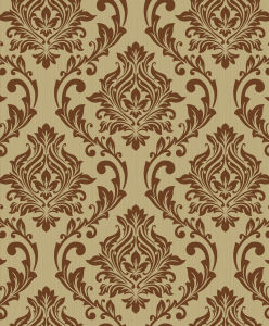 Interior Wallpapers Flocking, Natural Velvet Wall Covering for Home Decoration pictures & photos