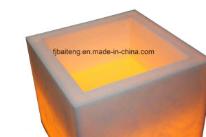 Artificial Stone Basin with Lights pictures & photos