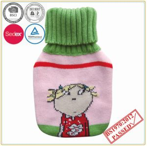 Cut Animal Design Knitted Hot Water Bottle Cover pictures & photos