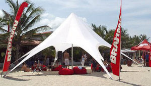 High Quality Anodized Aluminium Star Shade Tent pictures & photos