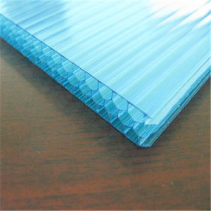 UV-Coated Honeycomb Polycarbonate Sheet Building Material pictures & photos
