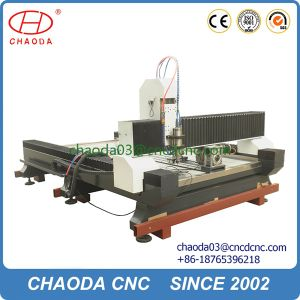 Stone Engraving Machines Rotary Axis CNC Router pictures & photos