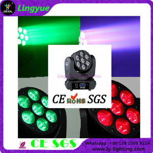 CE RoHS 7PCS 12W Beam Wash LED Moving Head pictures & photos