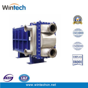 Free Flow All Welded Plate Heat Exchanger pictures & photos