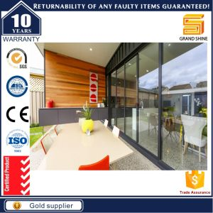 Double Glazing Aluminum Sliding Door Heat Isolation Panel with as Certificate pictures & photos