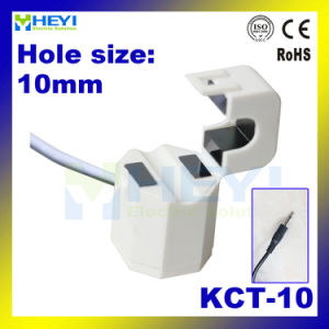 White Kct-10 Split Core Current Transformer with Earthphone Aduio Plug pictures & photos