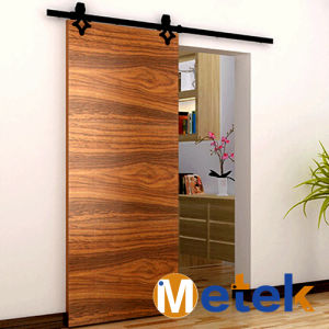 Hot Sale High Quality Interior Solid Wood Door Used Commercial Doors Track Fittings pictures & photos
