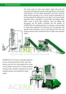 Gh Series Large Central Granulator for Thick-Wall Resin/Timber/Aluminum pictures & photos