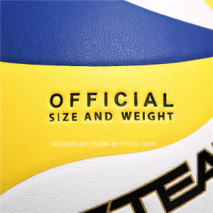 High Quality Composite Leather Training Volleyball pictures & photos