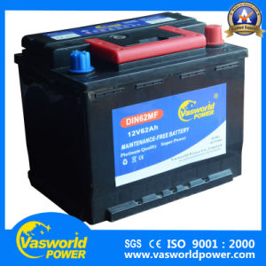 12V60ah JIS Standard Car Battery From Chinese Manufacturer with The Lowest Price pictures & photos