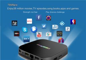 2017 Hot Sales T95r PRO S912 2g 16g 1080P Full HD Media Center Android TV Box Amlogic S912 Dual WiFi Kodi TV Box pictures & photos