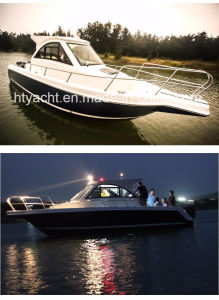 30′ Fiberglass American Family Leisure Fishing Boat Hangtong Factory-Direct pictures & photos