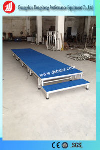 Stage Equipment Portable Aluminum Folding Stage for Exhibition pictures & photos