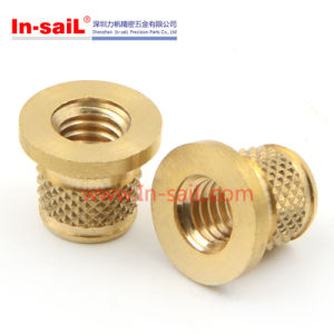 Diamond Outer- Knurled Insert Nut for Thermoplastic Material pictures & photos