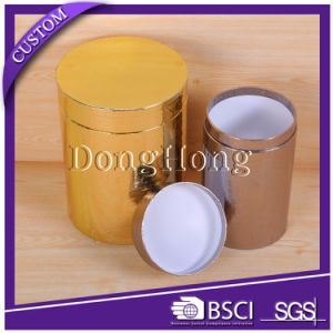 OEM Design Round Tube Printed Paper Flower Packaging Box pictures & photos