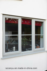 Philippines Price Double Tempered Glass French Aluminum Casement Window pictures & photos