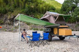 4X4 Car Roof Top Side Sunshade Rain Shelter Awning pictures & photos