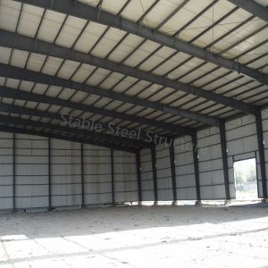 Popular Model Prefabricated Light Steel Structure Warehouse with Nice Quality pictures & photos