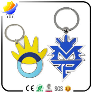 Beautiful Sepcial Shape of The Colorful Zinc Alloy Metal Key Chain pictures & photos