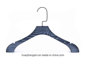 Deluxe Wooden Hanger with Notch pictures & photos