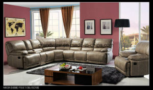 Home Furniture Recliner Corner Sofa with Storage Console pictures & photos