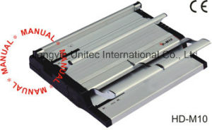 Wholesale Popular Designed Velo Strip Book Binding Machine HD-M10 pictures & photos