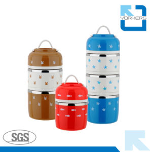 Multi-Layer New Products Stainless Steel Bento Lunch Box pictures & photos