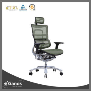 Executive Alyminum Mechanism Wheel Base Office Chair pictures & photos