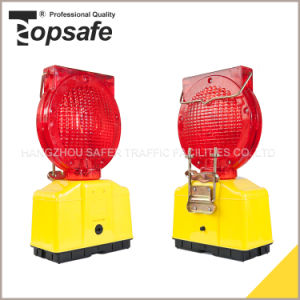 S-1317super LED with Solar Power Traffic Road Construction Warning Light pictures & photos