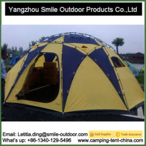 Large Outdoor Rain Cover Camping Family Half Dome Tent pictures & photos