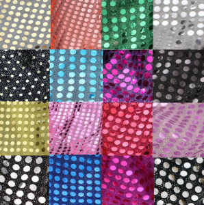 6mm Amercian Knitted Sequin Fabric pictures & photos