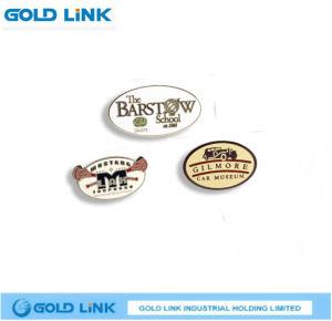 Promotion Gift Custom Logo Metal Pin Cloth Badge Emblem pictures & photos