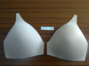 Triangle Molding Foam Bra Cup for Swimsuit (CS892) pictures & photos