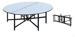 Wooden Top Folding Table /Banquet Table /Dining Table (HX-HT235) pictures & photos