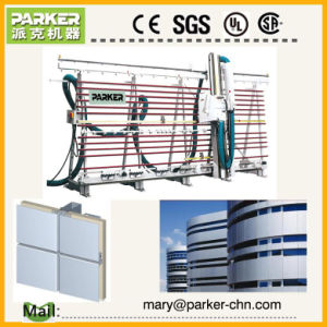 Aluminium Panel Grooving and Cutting Machine for Curtain Wall pictures & photos