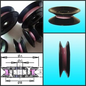 Winding Guide Pulley for Wire Drawing (Double Flanged Wire Roller) pictures & photos