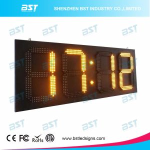 Yellow Color Outdoor Waterproof up-Counters LED Sign for Sport pictures & photos
