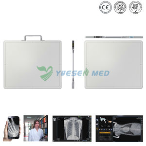 Ysdr-Gos Medical Veterinary Vet Pet X-ray Machine Wire and Wireless Flat Panel X-ray Detector pictures & photos