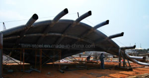 High Quality Fabrication Steel Truss Structure Conference and Exhibition Center pictures & photos