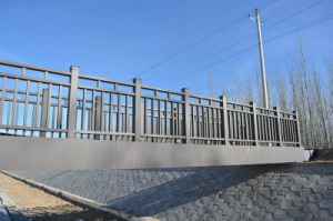 Hard and Lightweight WPC Outdoor Fencing pictures & photos