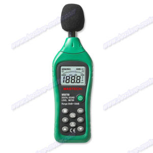Digital Sound Level Meter (MS6708) pictures & photos
