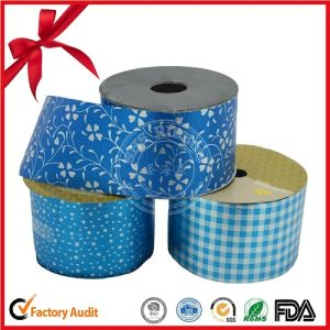 Printed Single Face Poly Ribbon Roll pictures & photos