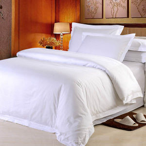 Cotton Mix Polyester Motel Hotel Bed Linen Bedding Sets pictures & photos